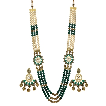 Green  Onyx Necklace Sets