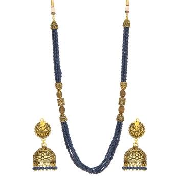 Blue Onyx Necklace Sets