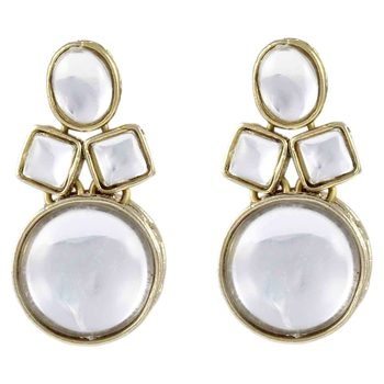 Karatcart Golden Non Precious Metal Dangle & Drop Earing For Women