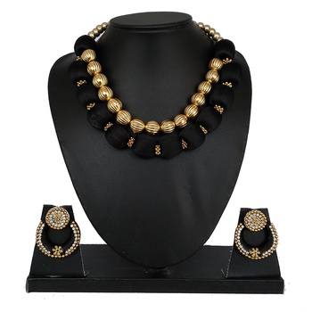 Black designer-jewellery