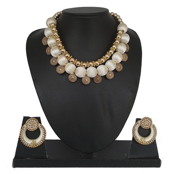 White Designer Jewellery