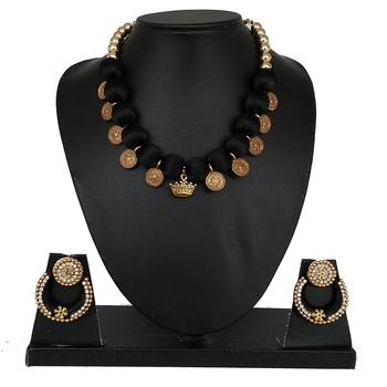 Black designer-jewellery