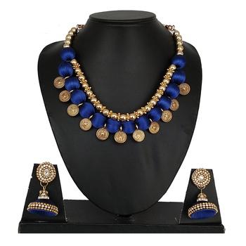 Blue designer-jewellery