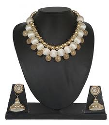 White designer-jewellery