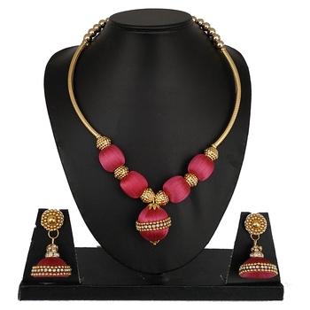 Pink designer-jewellery