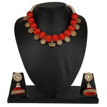 Red designer-jewellery