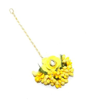 Flower Maang Tikka For Women & Girls