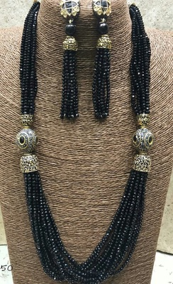 Black Onex Necklace Sets Women