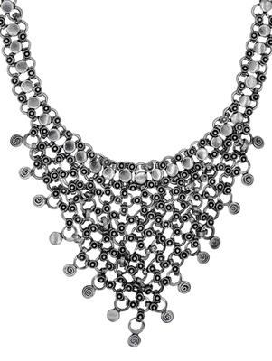 Zerokaata High Fashion Ethnic Statement Necklace