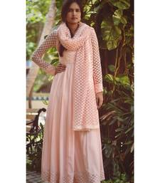 PINK STAR DRESS WITH DUPATTA