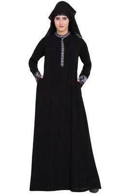 Black Plain Nida Burka