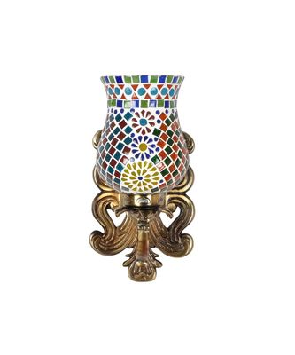 Multicolor Mosaic Glass Wall Up Light Lamp for Bedside Lamp/Stair Lamp/Wall Sconce/Living Room