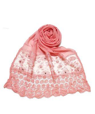 Pink Fashionable Designer Hijab Head Scarf