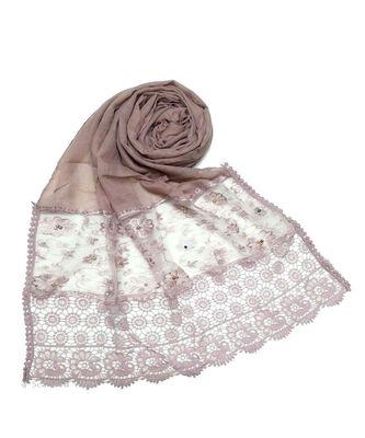 Purple Fashionable Designer Hijab Head Scarf
