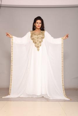 Eid special Kaftan Women Dress Long Gown Farasha Morocco Wear
