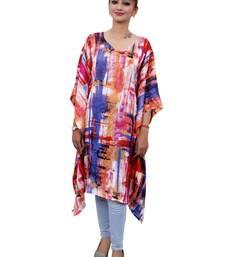 Multicolor plain cotton islamic-kaftans