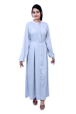 White plain cotton islamic-kaftans
