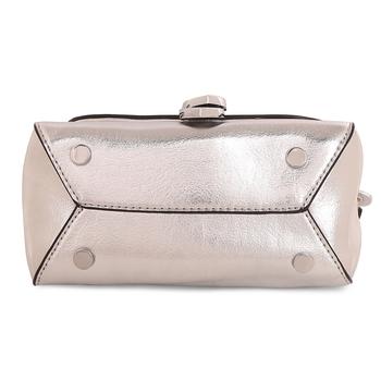 Viyomi Women PU Silver Sling Bag