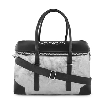 Viyomi Women PU Silver Shoulder Bag