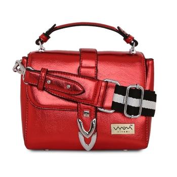 Viyomi Women PU Red Sling Bag