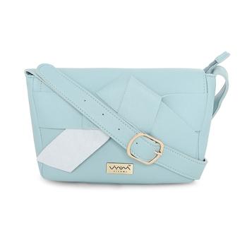 Viyomi Women PU Blue Sling Bag