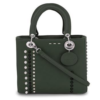 Viyomi Women PU Green Sling Bag