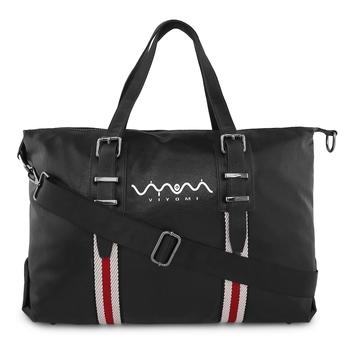 Viyomi Women PU Black Shoulder Bag