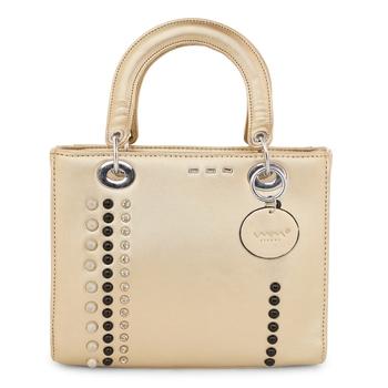 Viyomi Women PU Gold Sling Bag