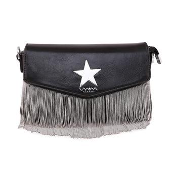 Viyomi Women PU Black Sling Bag