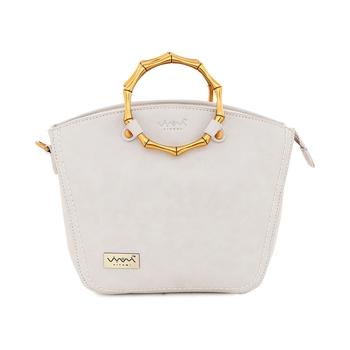 Viyomi Women PU Grey Sling Bag