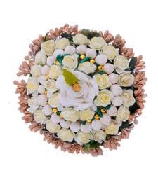Wedding Special Flower Hair Style Bun
