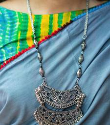 Silver Ghungroo Banjara Necklace