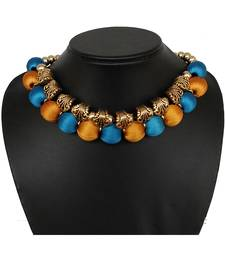 Gold collar-necklace