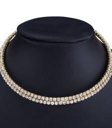 golden stones necklaces