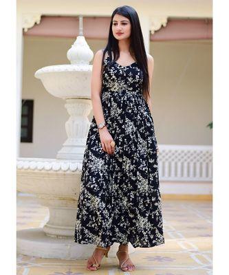 Beautiful Black Maxi Dress