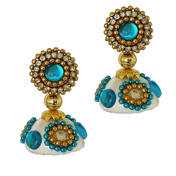 Blue designer-jewellery