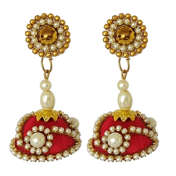 Red designer-jewellery