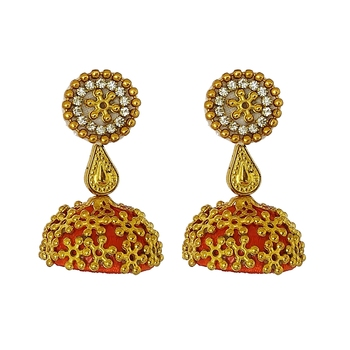 Orange designer-jewellery