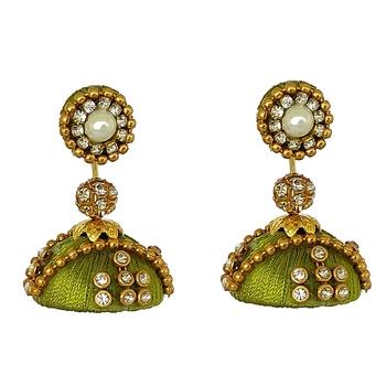 Green designer-jewellery
