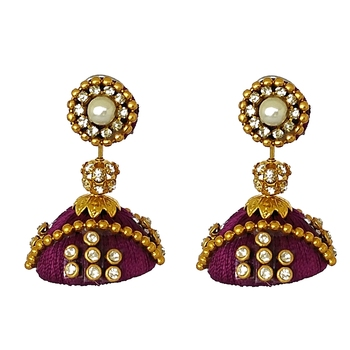 Purple designer-jewellery