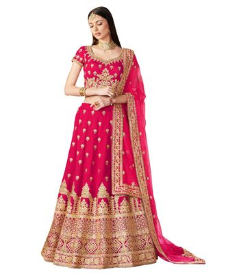 Red Soundarya Bridal Designer Lehenga