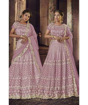 Pink Virasat Wedding Designer Lehenga