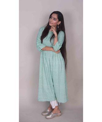Green Kurta dress