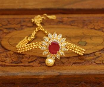 Red agate bajuband
