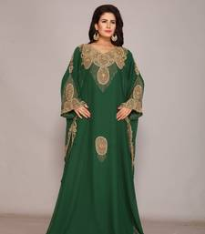 Dubai Kaftan Women Dress Long Gown Farasha Wear
