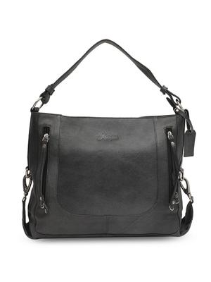 Musqari Leather Handbags For Women (Black)