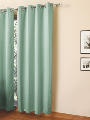 ROSARA HOME Erba Blackout-Set Of 1 Curtain
