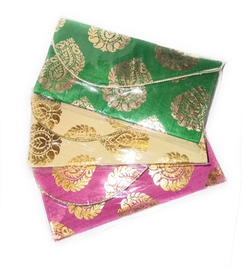 Handmade Ethnic Traditional Pouches Bag For Ladies And Girls