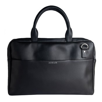 Broke Mate Vegan Laptop Bag - Black