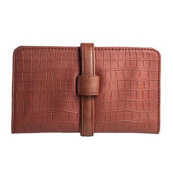 Broke Mate Clutch Wallet - Brown